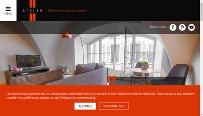 Site internet de Atulam Pose Fenetres