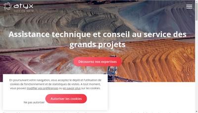 Site internet de Atyx