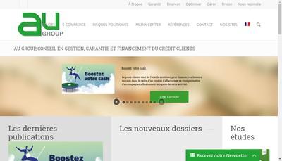 Site internet de Au Group