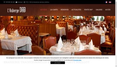Site internet de Auberge Dab