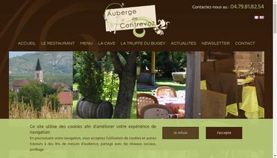 Site internet de Auberge de Contrevoz
