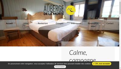 Site internet de Auberge de la Motte