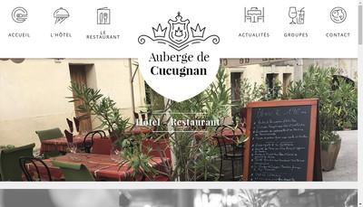 Site internet de SARL Auberge de Cucugnan