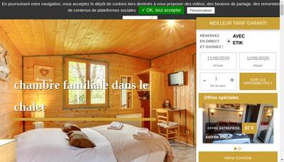Site internet de Auberge des Aulnettes