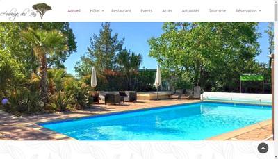 Site internet de Auberge des Pins