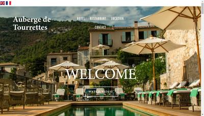 Site internet de Auberge de Tourettes