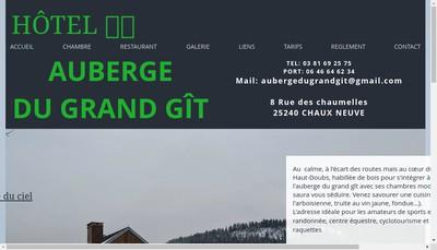 Site internet de Auberge du Grand Git