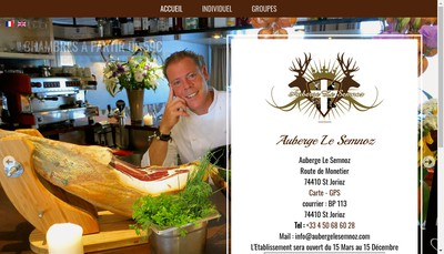 Site internet de Auberge du Semnoz