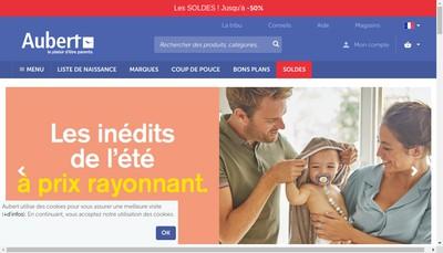 Site internet de Aubert International