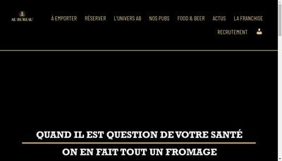 Site internet de Au Bureau