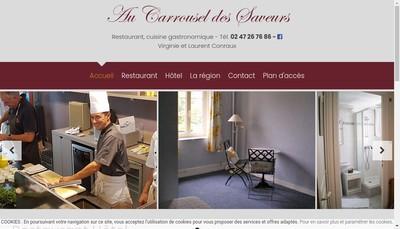 Site internet de Au Carrousel des Saveurs