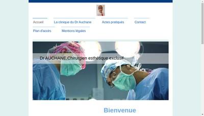 Site internet de Vincent Auchane