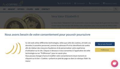 Site internet de Aucoffre Com