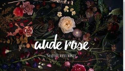 Site internet de Aude Rose