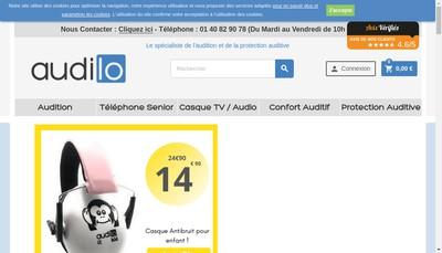 Site internet de Audilo