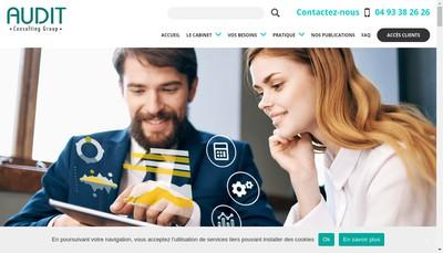 Site internet de Carnot Audit