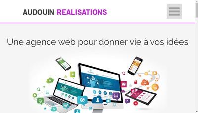 Site internet de Audouin Realisations