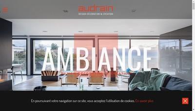 Site internet de Audrain