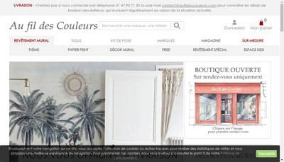 Site internet de Fil des Couleurs