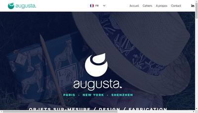 Site internet de Augusta