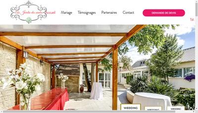 Site internet de Au Jardin des Saules