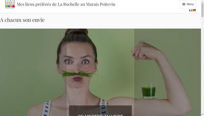 Site internet de Office de Tourisme Aunis Marais Poitevin