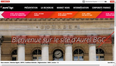 Site internet de Bgc - Aurel Etc Pollak