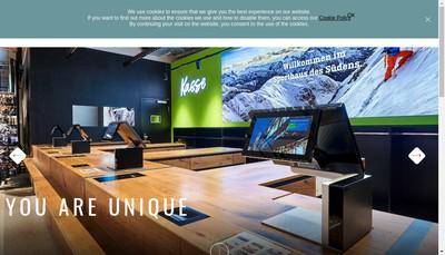 Site internet de Aures Technologies