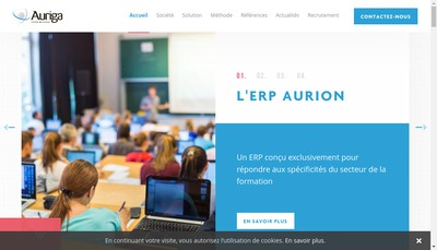 Site internet de Auriga