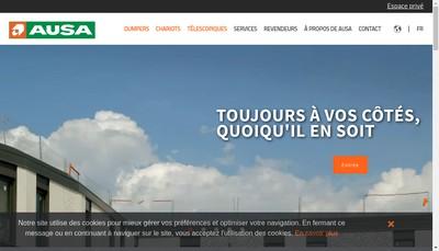 Site internet de Ausa France