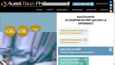 Site internet de Aussitauxpret