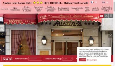 Site internet de Austin'S Saint Lazare Hotel