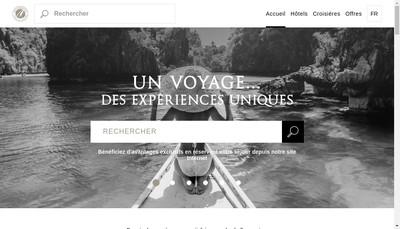 Site internet de Authentic Hotels