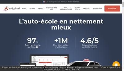 Site internet de Mercure Formation