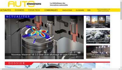 Site internet de Auto-Innovations