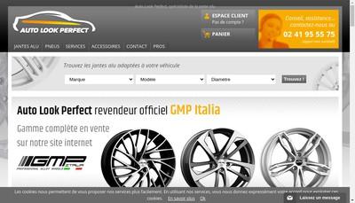 Site internet de SARL Auto Look Perfect