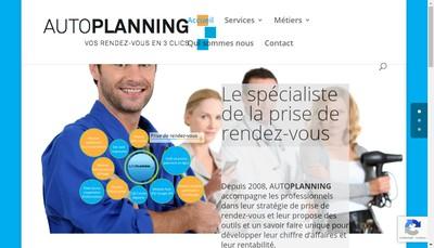 Site internet de Auto Planning Fr