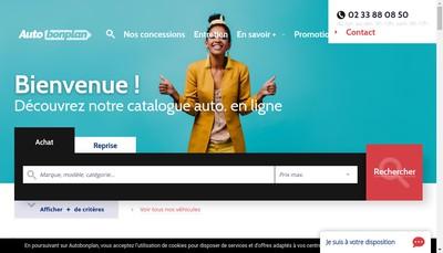 Site internet de VAG Cholet