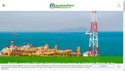 Site internet de Autochim