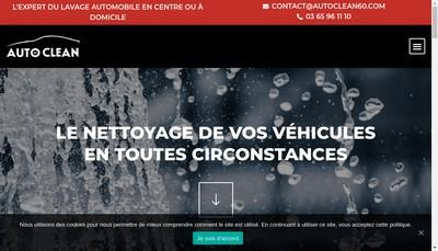 Site internet de Auto Clean 60