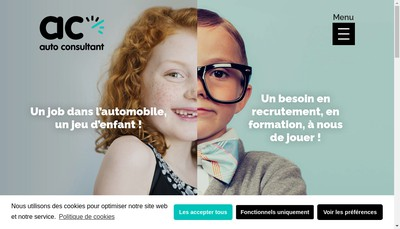 Site internet de Auto Consultant