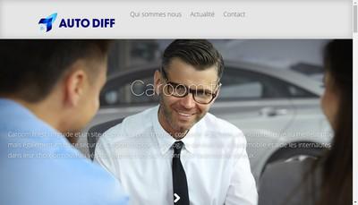 Site internet de Auto Diff