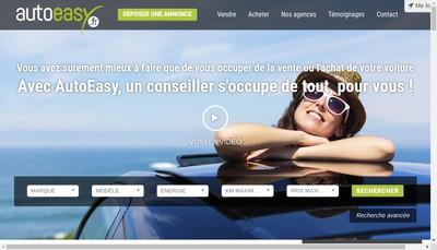 Site internet de Auto Easy