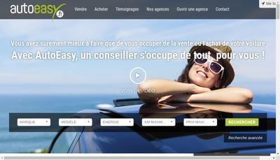 Site internet de Agence Auto Easy
