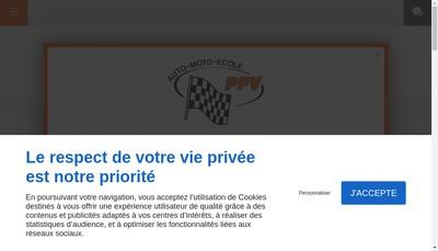 Site internet de Pole Position du Vexin