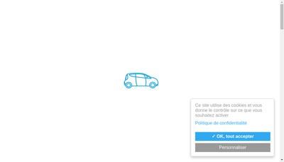 Site internet de Autolib'
