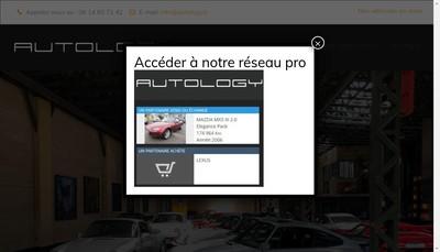 Site internet de Autology
