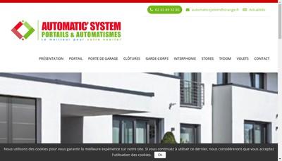 Site internet de Automatic' System