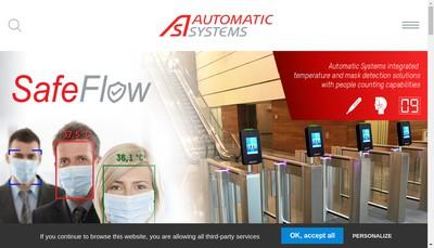 Site internet de Automatic Systems