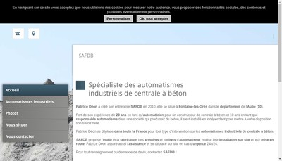 Site internet de Safdb